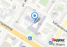Компания «Читинский техникум отраслевых технологий и бизнеса» на карте