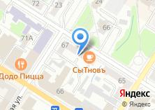 Компания «Молодая гвардия» на карте