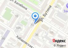 Компания «БайкалАвиаСервис» на карте