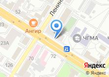 Компания «Общежитие ЧГМА» на карте