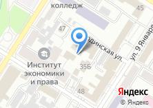 Компания «Современная гуманитарная академия» на карте
