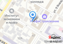 Компания «Антекс» на карте
