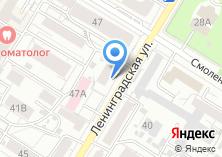 Компания «Общежитие на Ленинградской» на карте