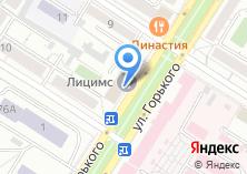 Компания «ЗабГеоСервис» на карте