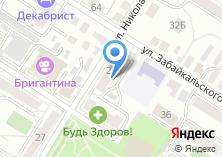 Компания «ЗабайкалПромИмпЭкс» на карте