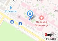 Компания «Краевая детская клиническая больница» на карте