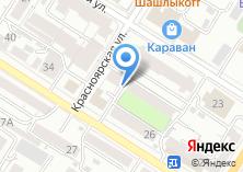 Компания «Строящийся жилой дом по ул. Красноярская» на карте