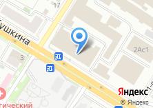 Компания «Центральный Склад Сибири» на карте