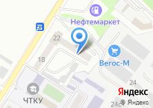 Компания «Автоснабцентр» на карте