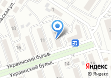 Компания «ЖЭУ №9» на карте