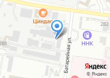 Компания «Массив» на карте