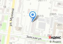 Компания «Строящийся жилой дом по ул. Зейская» на карте