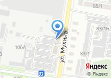 Компания «Территория мебели» на карте
