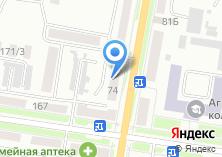 Компания «Банкомат КБ Восточный экспресс банк» на карте