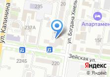 Компания «Быт-тех» на карте