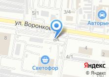 Компания «КАМАЗ» на карте