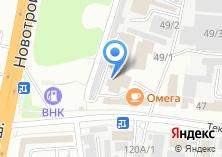 Компания «Дальхимия» на карте