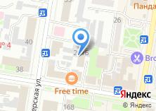 Компания «Аскона-фитнес» на карте