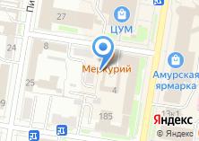 Компания «Хабаровская государственная академия экономики и права» на карте
