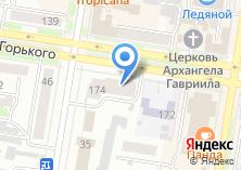 Компания «Элтика» на карте