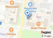 Компания «Рекламный Центр Благовещенска» на карте
