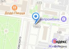Компания «Амурреестр» на карте