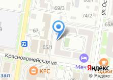 Компания «Серышевские» на карте