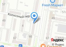 Компания «Шевелюрс» на карте