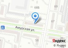 Компания «Техноавиа-Хабаровск» на карте