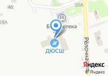 Компания «Амурская областная ДЮСШ» на карте