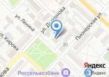 Компания «Восточный экспресс банк» на карте