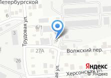 Компания «Уралавтоцентр» на карте