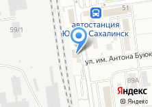 Компания «Унисон» на карте