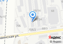 Компания «Шины Плюс» на карте
