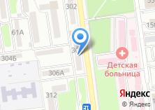 Компания «Наше такси» на карте
