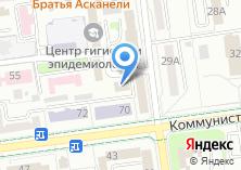Компания «КАНО» на карте