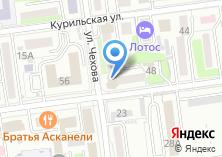 Компания «Строящееся административное здание по ул. Чехова» на карте