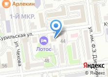 Компания «Департамент по управлению муниципальным имуществом Администрации г. Южно-Сахалинска» на карте