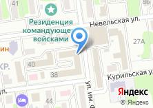 Компания «СахЭлектроСеть» на карте