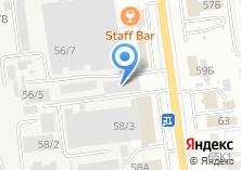 Компания «Симакс» на карте