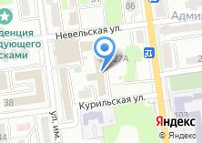 Компания «Управление капитального строительства г. Южно-Сахалинска» на карте