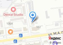 Компания «Моя pizza» на карте