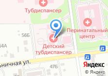 Компания «Сахалинский областной противотуберкулезный диспансер» на карте