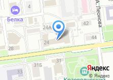 Компания «Инстон Интернешнл» на карте