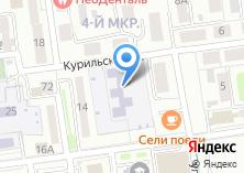 Компания «Детский сад №21 Кораблик» на карте