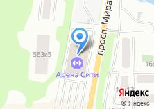 Компания «Арена сити» на карте