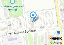 Компания «Автосервис на ул. Леонова» на карте