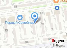 Компания «Интелком» на карте