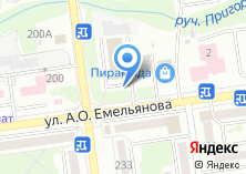 Компания «Автостоянка на ул. Емельянова» на карте
