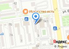 Компания «Марка» на карте